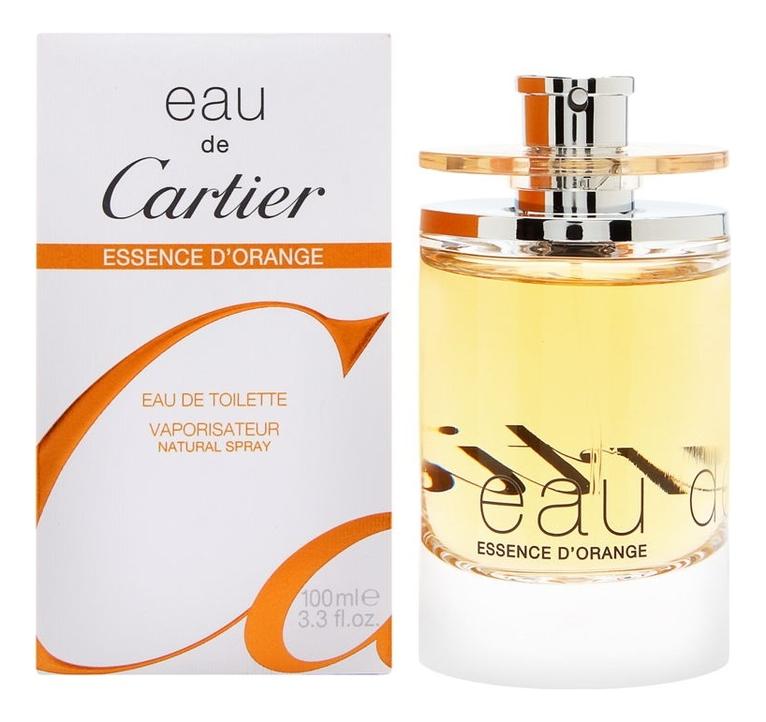 Cartier Eau de Cartier Essence D'Orange: туалетная вода 100мл cartier eau de cartier