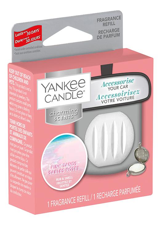 Ароматический брелок для машины Квадрат Pink Sands Charming Scents: Сменная пластина
