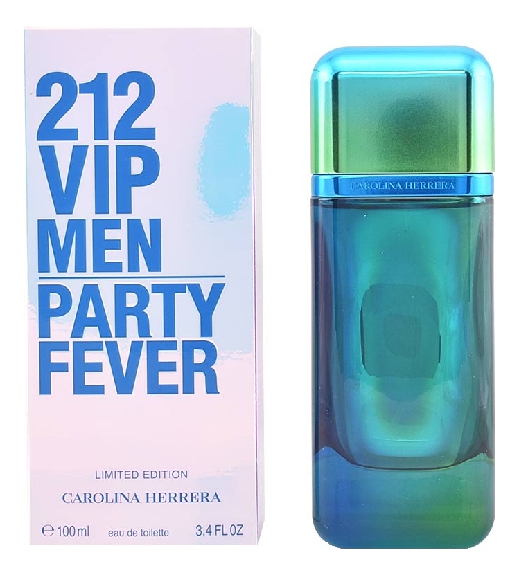 Carolina Herrera 212 VIP Men Party Fever: туалетная вода 100мл