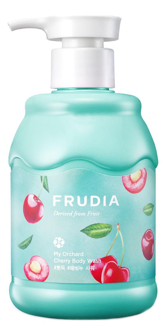 Гель для душа My Orchard Cherry Body Wash 350мл (вишня) frudia тонизирующий гель скраб для душа с маракуйей my orchard passion fruit scrub body wash 200 мл