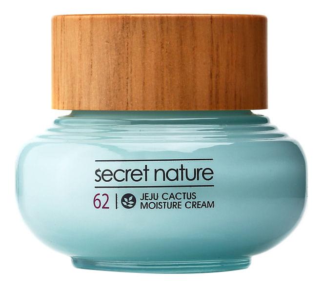 Купить Разглаживающий крем для лица с экстрактом кактуса Jeju Cactus Moisture Cream 50мл, Secret Nature