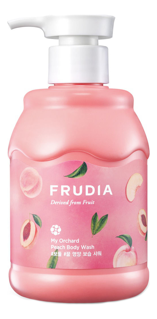 Гель для душа My Orchard Peach Body Wash 350мл (персик) frudia тонизирующий гель скраб для душа с маракуйей my orchard passion fruit scrub body wash 200 мл