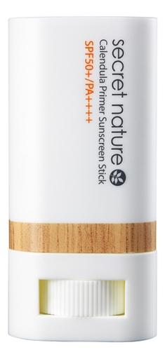 Солнцезащитный праймер-стик с экстрактом календулы Calendula Primer Sunscreen Stick SPF50+ PA++++ 20г secret nature тональная основа кушон с экстрактом календулы для макияжа тон 21