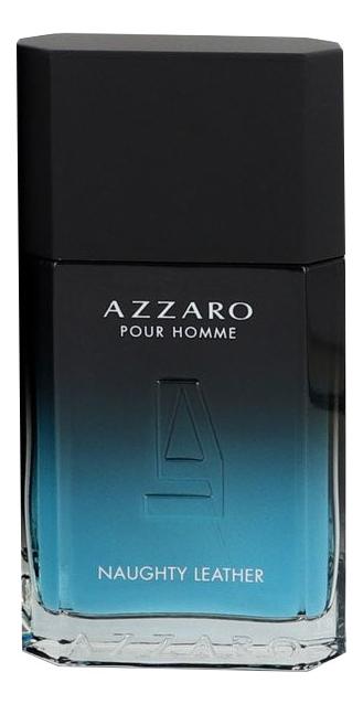 Naughty Leather Pour Homme: туалетная вода 100мл тестер azzaro naughty leather pour homme туалетная вода 100мл