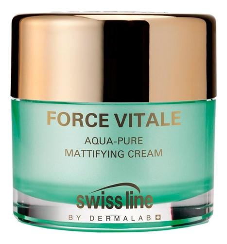 Матирующий увлажняющий крем для лица Force Vitale Aqua-Pure Mattifying Cream 50мл крем для лица увлажняющий anti blemish aqua cream 50мл