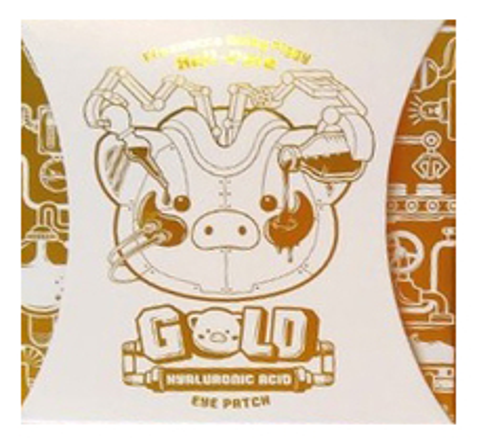 Гидрогелевые патчи для кожи вокруг глаз с гиалуроновой кислотой Milky Piggy Hell Pore Gold Hyaluronic Acid Eye Patch 60шт
