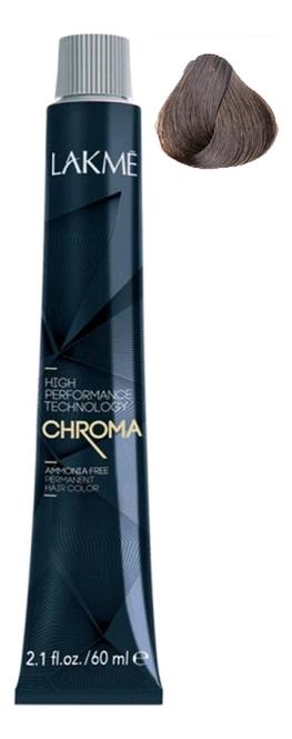 Фото - Безаммиачная крем-краска для волос Chroma Ammonia Free Permanent Hair Color 60мл: 5-61 Светлый шатен коричнево-пепельный безаммиачная крем краска для волос chroma ammonia free permanent hair color 60мл 7 44 средний блондин медный яркий