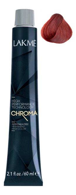Фото - Безаммиачная крем-краска для волос Chroma Ammonia Free Permanent Hair Color 60мл: 6-99 Темный блондин красный яркий краска для волос fruits wax pearl hair color 60мл no 99