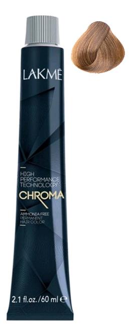 Фото - Безаммиачная крем-краска для волос Chroma Ammonia Free Permanent Hair Color 60мл: 8-32 Блондин золотисто-фиолетовый безаммиачная крем краска для волос chroma ammonia free permanent hair color 60мл 7 44 средний блондин медный яркий