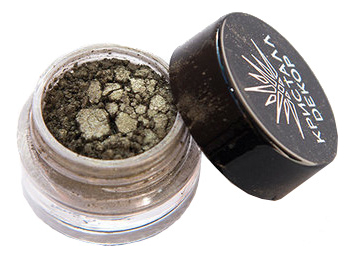 Тени для век Кристалл Dекор 1,5г: Светлый хаки-сатин (новый дизайн) румяна для лица кристалл dекор 5г бурбон сатин новый дизайн