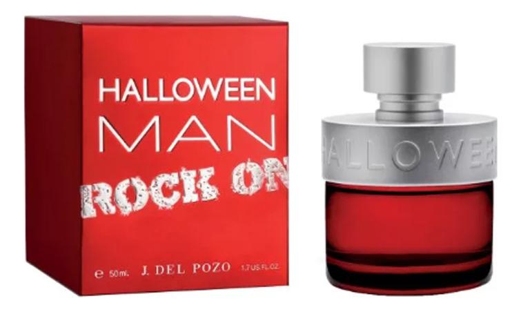 J.Del Pozo Halloween Men Rock: туалетная вода 50мл