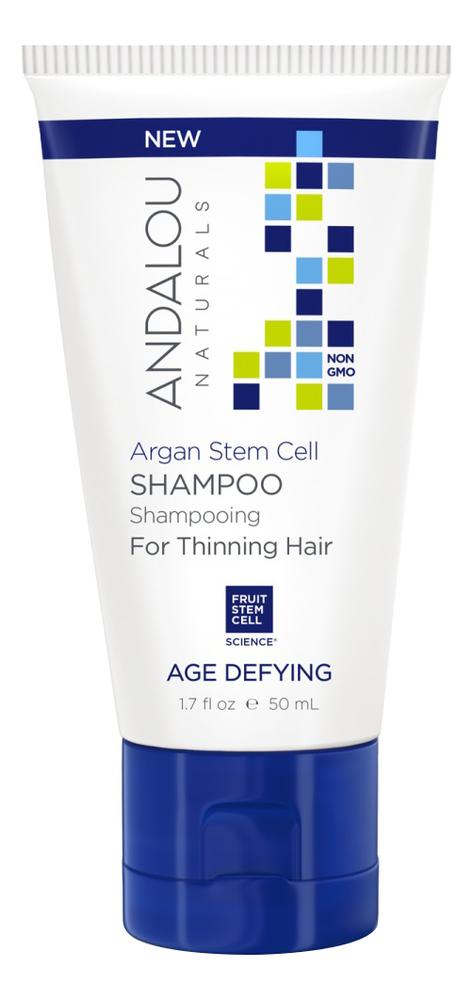 Фото - Укрепляющий шампунь для ослабленных волос Age Defying Argan Stem Cell Shampoo: Шампунь 50мл укрепляющий шампунь для ослабленных волос age defying argan stem cell shampoo 340мл шампунь 340мл