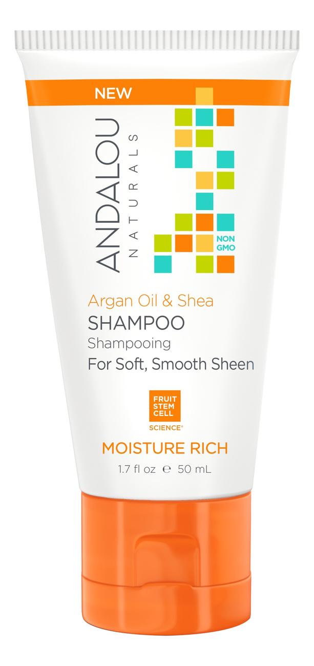 Шампунь для увлажнения волос Moisture Rich Argan Oil & Shea Shampoo: Шампунь 50мл шампунь reveur rich repair