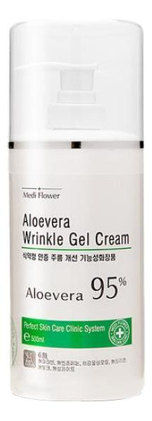 Смягчающий гель-крем для лица с экстрактом алоэ вера Aloe Vera Wrinkle Gel Cream 500мл фото