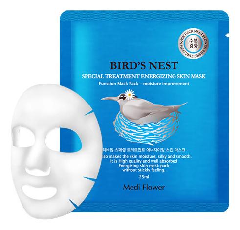 Интенсивная маска для лица с экстрактом ласточкиного гнезда Special Treatment Energizing Mask Pack Bird's Nest: Маска 25мл