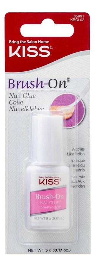 Клей для ногтей c кисточкой Brush-On Nail Glue KBGL02C 5г
