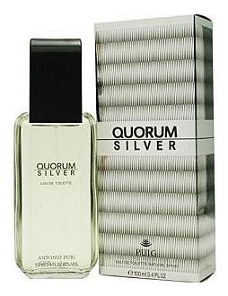 Quorum Silver: туалетная вода 100мл недорого