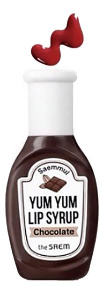 Тинт для губ увлажняющий Saemmul Yum Yum Lip Syrup 10г: 01 Chocolate письменные принадлежности six yum 036