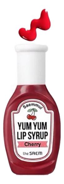 Тинт для губ увлажняющий Saemmul Yum Yum Lip Syrup 10г: 02 Cherry письменные принадлежности six yum 036