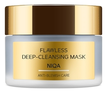 Zeitun Маска для лица с углем и марокканской глиной Niqa Flawless Deep-Cleansing Mask 50мл
