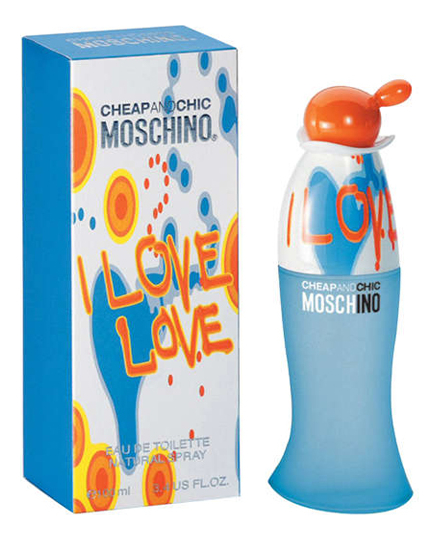 Moschino Cheap and Chic I Love Love: туалетная вода 100мл