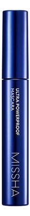 Купить Тушь для ресниц стойкая Ultra Powerproof Mascara Curl Up Longlash 8г, Missha