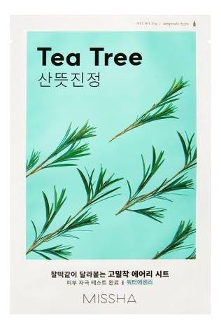 Тканевая маска для лица с экстрактом чайного дерева Airy Fit Sheet Mask Tea Tree 19г недорого
