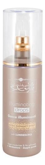 Капли для придания блеска волосам Inimitable Style Illuminating Drops 100мл