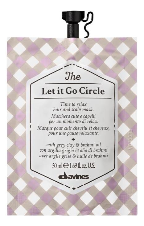 Маска-релакс для волос и кожи головы The Let It Go Circle: Маска 6*50мл