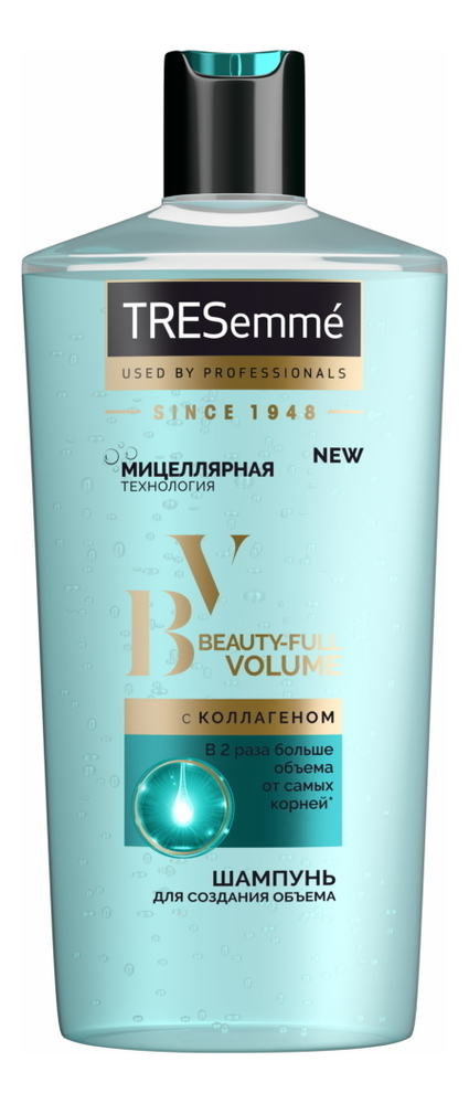 Фото - Шампунь для создания объема волос Beauty-Full Volume 650мл: Шампунь 650мл кондиционер tresemme beauty full volume для создания объема 400 мл
