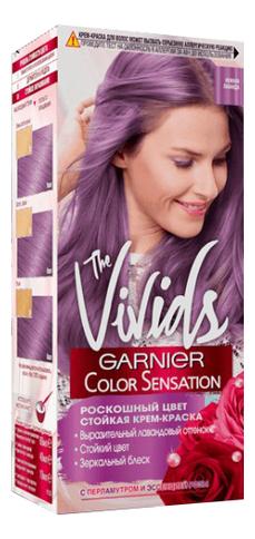 Купить Крем-краска для волос Color Sensation Vivids 100мл: Нежная лаванда, GARNIER
