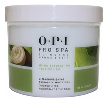 OPI Отшелушивающий скраб для рук с сахарными кристаллами Pro Spa Exfoliating Sugar Scrub