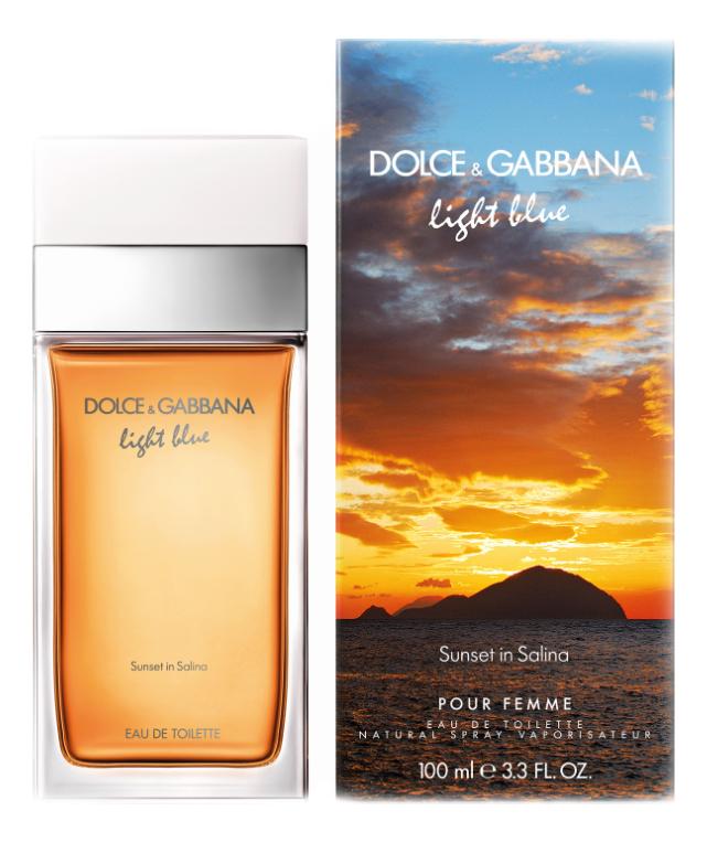 Купить Light Blue Sunset in Salina: туалетная вода 100мл, Dolce & Gabbana