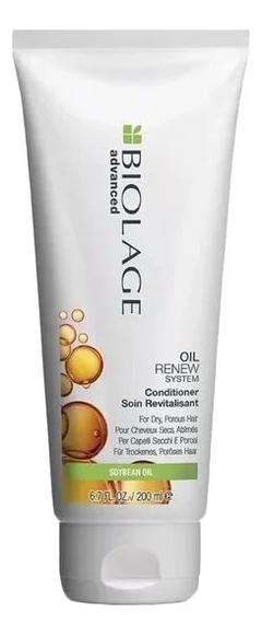 Купить Кондиционер для волос с соевым маслом Biolage Advanced Oil Renew Conditioner: Кондиционер 200мл, MATRIX