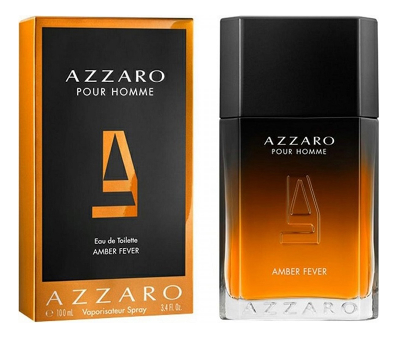 Amber Fever Pour Homme: туалетная вода 100мл azzaro naughty leather pour homme туалетная вода 100мл