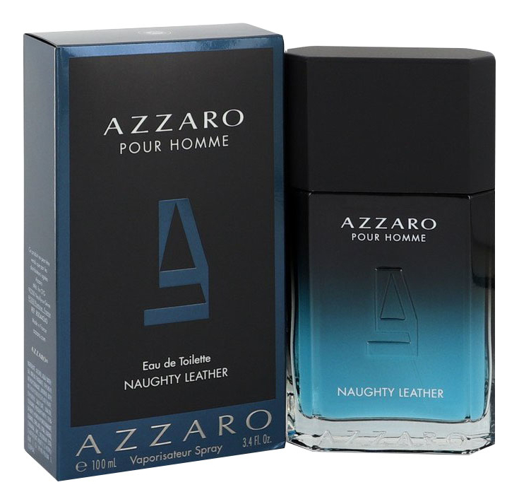 Naughty Leather Pour Homme: туалетная вода 100мл azzaro naughty leather pour homme туалетная вода 100мл