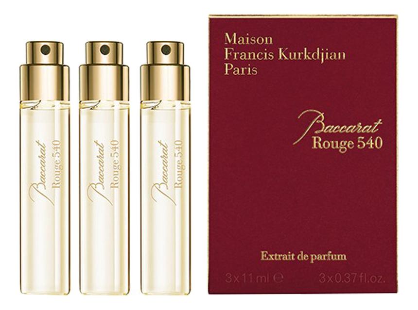 Francis Kurkdjian Baccarat Rouge 540 Extrait De Parfum: духи 3*11мл v canto magnificat extrait de parfum