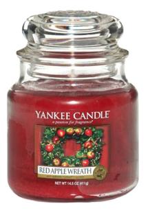 Ароматическая свеча Red Apple Wreath: Свеча 411г фото