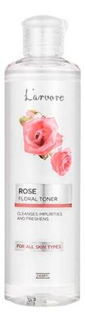 Освежающий тонер с экстрактом розы Rose Floral Toner 248мл