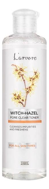 Тонер с экстрактом гамамелиса для сужения пор Witch-Hazel Pore Clear Toner 248мл