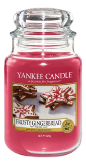 Фото - Ароматическая свеча Frosty Gingerbread: Свеча 623г ароматическая свеча snowflake cookie свеча 623г
