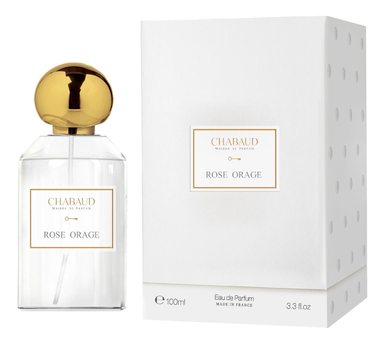 Chabaud Maison De Parfum Rose Orage: парфюмерная вода 100мл chabaud maison de parfum nectar de fleurs парфюмерная вода 100мл