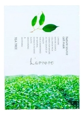 L'arvore Тканевая маска для лица с экстрактом зеленого чая Nature Source Cell Mask Tea Tree 25г