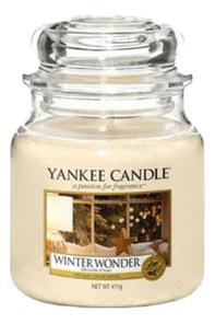Купить Ароматическая свеча Winter Wonder: Свеча 411г, Yankee Candle