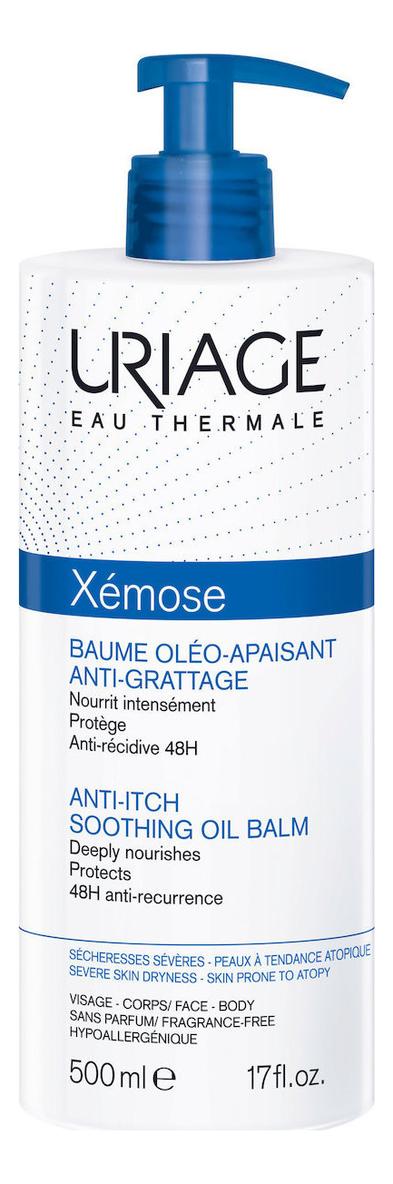 Липидовосстанавливайщий бальзам для тела Xemose Baume Oleo Apaisant Anti-Grattage 500мл: Бальзам 500мл крем для тела uriage xemose