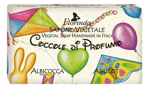 Фото - Натуральное мыло Coccole Di Profumo Albicocca 100г profumo di donna юбка до колена