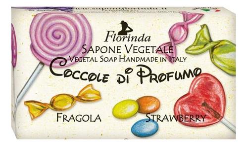 Фото - Натуральное мыло Coccole Di Profumo Fragola 100г profumo di donna юбка до колена