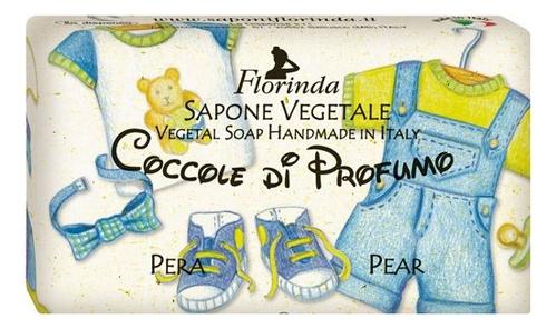 Фото - Натуральное мыло Coccole Di Profumo Pera 100г: Мыло 100г натуральное мыло passione di frutta uva e mirtillo 100г мыло 100г