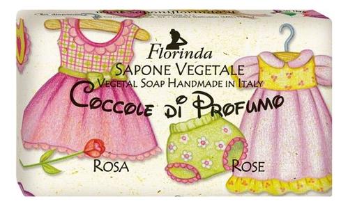 Фото - Натуральное мыло Coccole Di Profumo Rosa 100г: Мыло 100г натуральное мыло passione di frutta uva e mirtillo 100г мыло 100г
