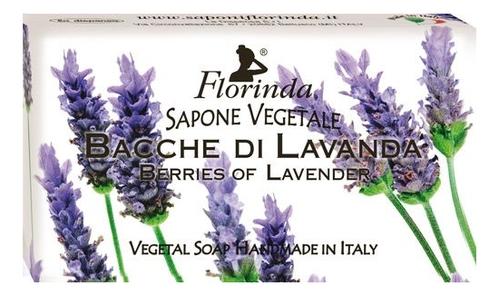 Купить Натуральное мыло Fiori Di Primavera Bacche Di Lavanda 100г, Florinda
